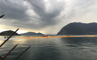 Experiencing Christo and his Floating Piers
