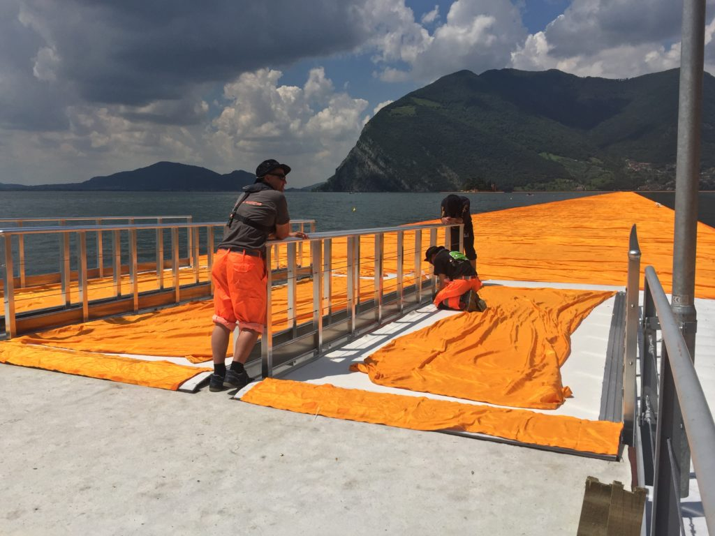Christo floating piers by Debby Luzia