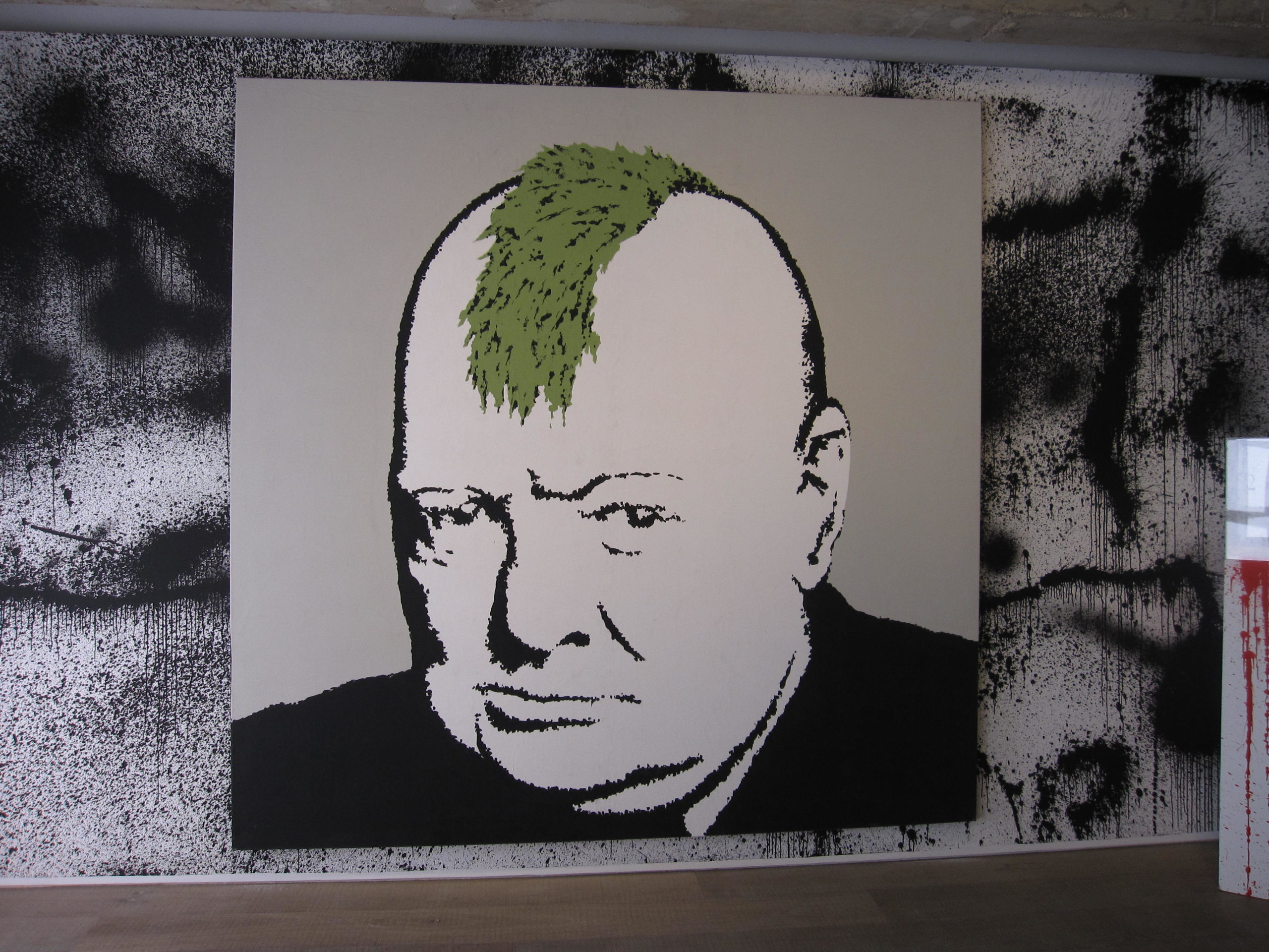 Banksy_Churchill