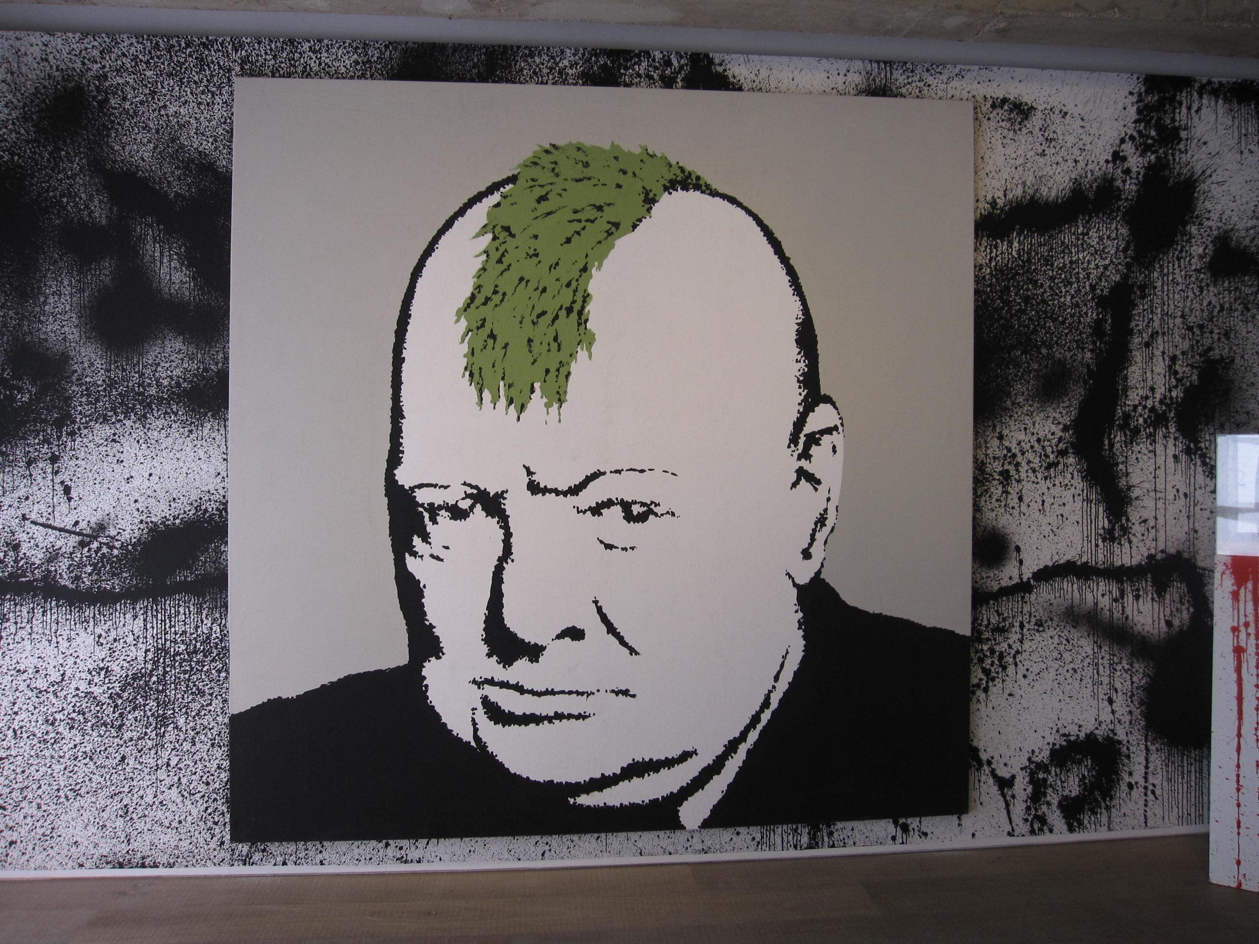 Banksy_Churchill