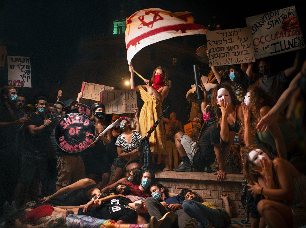 Shield Of Democracy | Paris Square, Jerusalem | July 2020 | Sharon Avraham